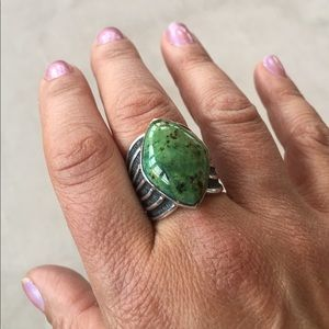 Jewelry - Sterling silver imitation stone ring